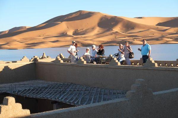 A Merzouga : Choix du camping et la bonne balade dans le desert DSCF7262