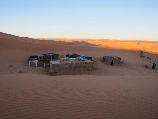 A Merzouga : Choix du camping et la bonne balade dans le desert IMG_6693