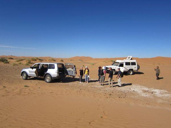 A Merzouga : Choix du camping et la bonne balade dans le desert IMG_6741